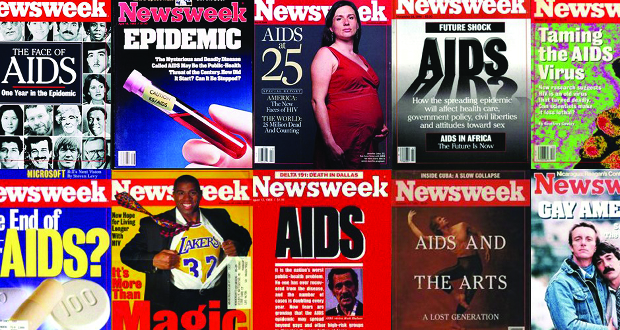 Old media coverage of HIV/AIDS
